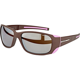 Julbo Monterosa Spectron 4 Sunglasses Women aubergine/pink-brown flash silver